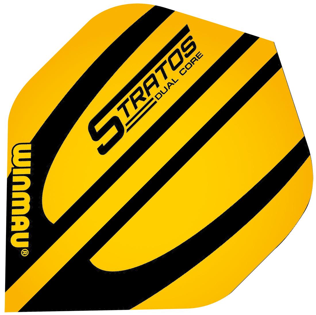 Winmau Mega Standard Yellow Stratos