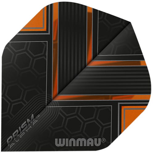 Winmau Prism Alpha Orange & Black