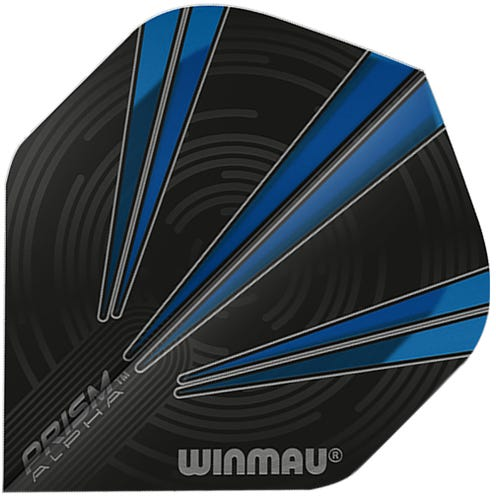 Winmau Prism Alpha Black & Blue
