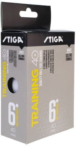 Stiga Training 40+ 6-pack White
