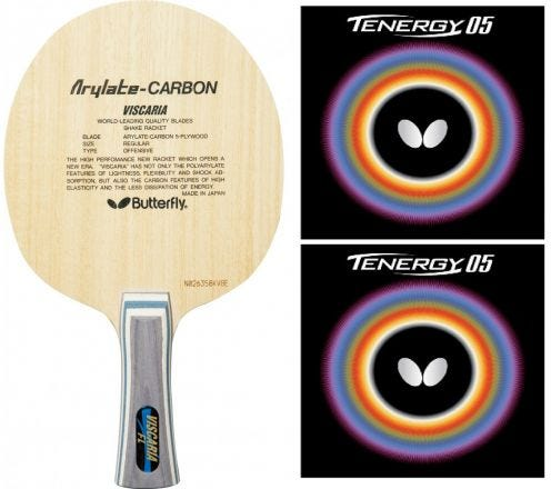 Buterfly Viscaria + Tenergy 05