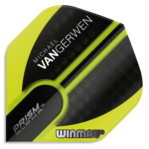 Winmau Prism Alpha MvG Green/Black