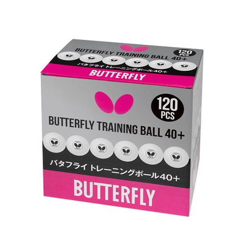 Butterfly Training Ball 40+ 120-pack
