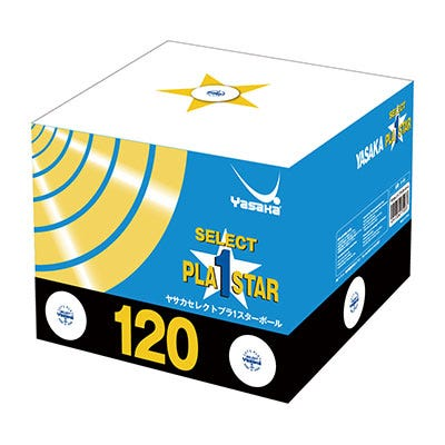 Yasaka Select 1-star 120-pack
