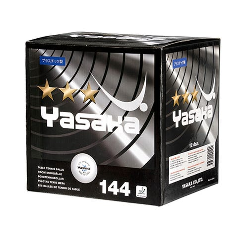 Yasaka 3-star 40+ 144-pack